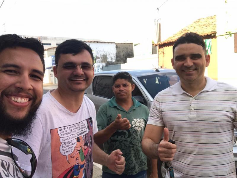 Vereador Delegado Mauro cogita candidatura a prefeito de Esperantina