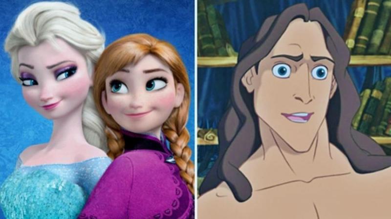 Você sabia que o Tarzan é irmão da Elsa e Anna, de 'Frozen'?