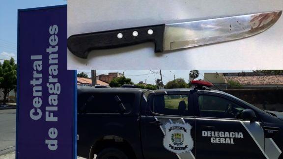 Homem é preso após esfaquear a ex-companheira no Piauí