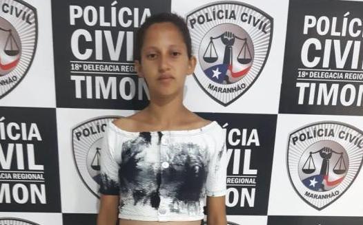 Civil/Timon cumpre mandado e prende Bia, condenada por assalto a mão armada