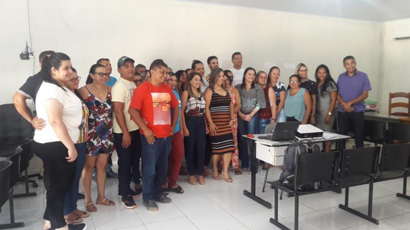 Pavussu | Profissionais da Saúde participam de qualificação