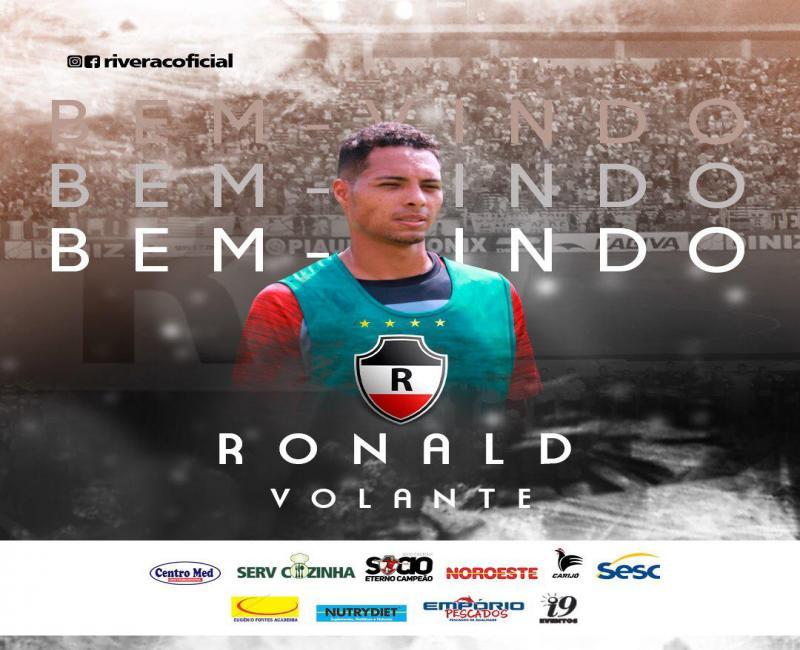 River Atlético Clube anuncia contratação de Ronald e Érico Júnior