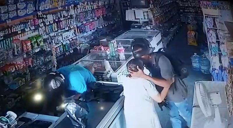 Comparsa de criminoso que beijou idosa em assalto no Piauí é preso