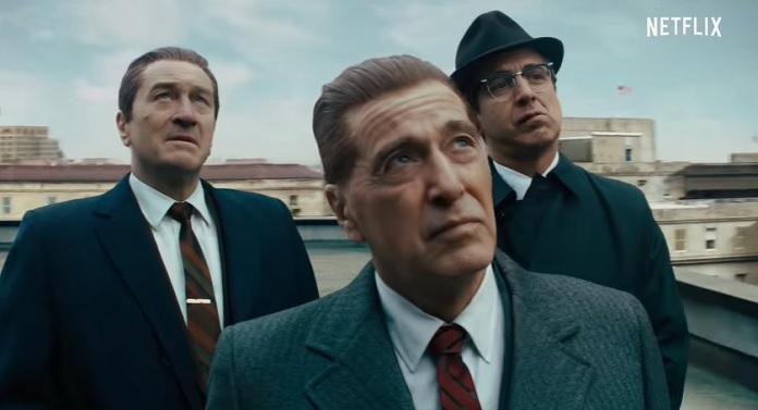 'O Irlandês' da Netflix será exibido com exclusividade nos Cinemas Teresina