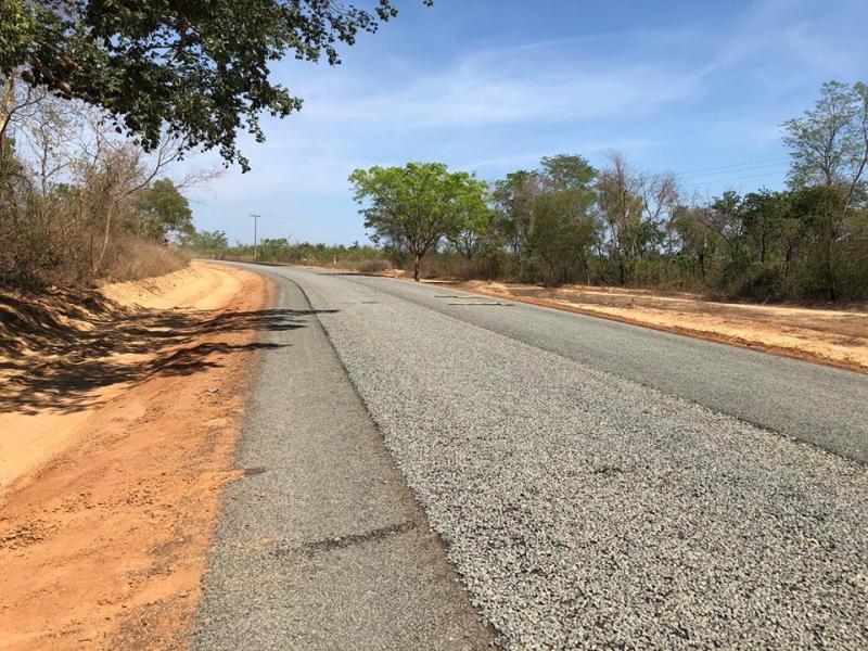 Em  fase de conclusão o asfaltamento que liga Brasileira a 7 Cidades