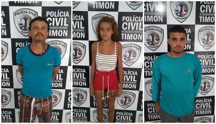 GPE-18/Timon cumpre mandados e prende condenados pela Justiça