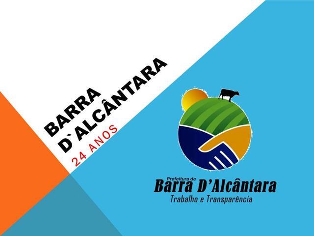 Prefeito divulga programação dos 24 anos de Barra D Alcântara