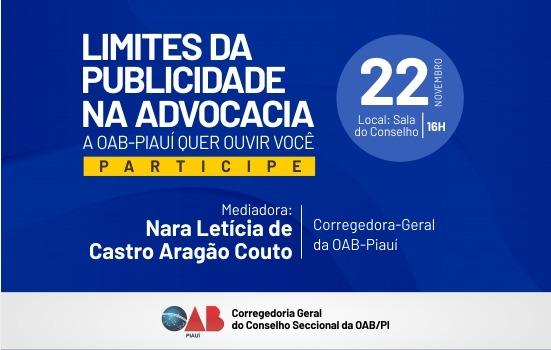 Reunião aberta debaterá 'Limites da Publicidade na Advocacia'