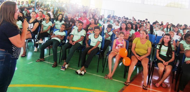Prefeitura realiza reunião para tratar sobre o Pelotão Mirim Municipal