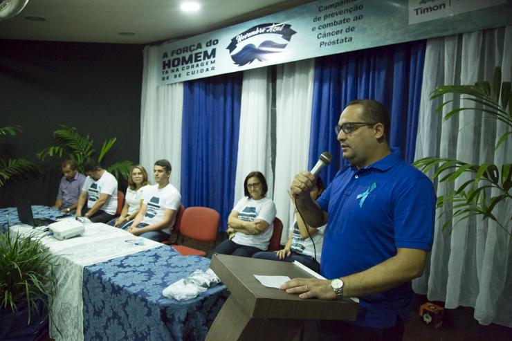 Oficializada a Campanha Novembro Azul em Timon