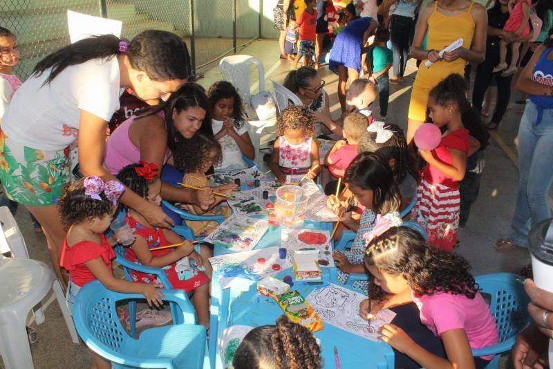 Secretária Social promove dia de laser  com crianças do município