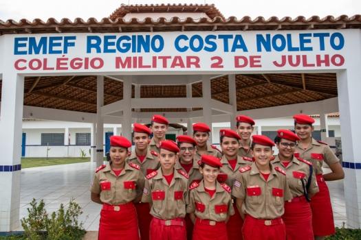 Colégio Militar 2 de Julho divulga locais de prova para processo seletivo