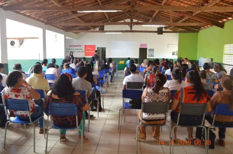 Formação para emplementação do BNCC e Currículo em Colônia do Gurgueia-PI