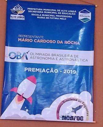 XXII OBA Olimpíada Brasileira de Astronomia e Astronáutica