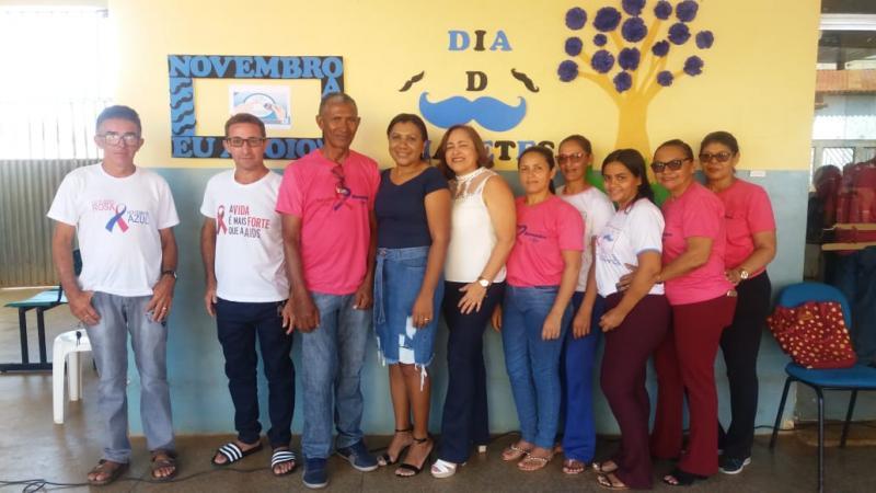 Saúde de Barra D'Alcântara realizou dia D de Prevenção ao Diabetes