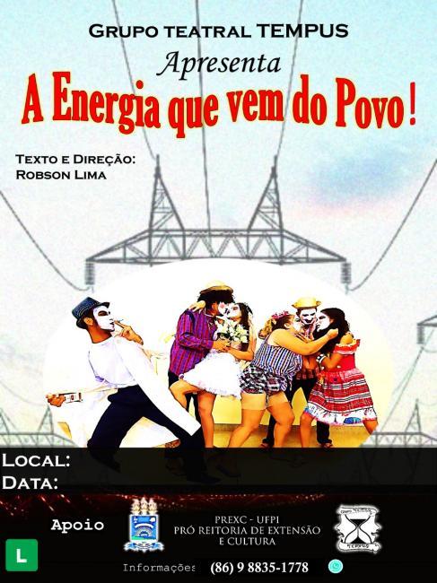 UFPI | Grupo Teatral Tempus prepara apresentações para o mês de novembro