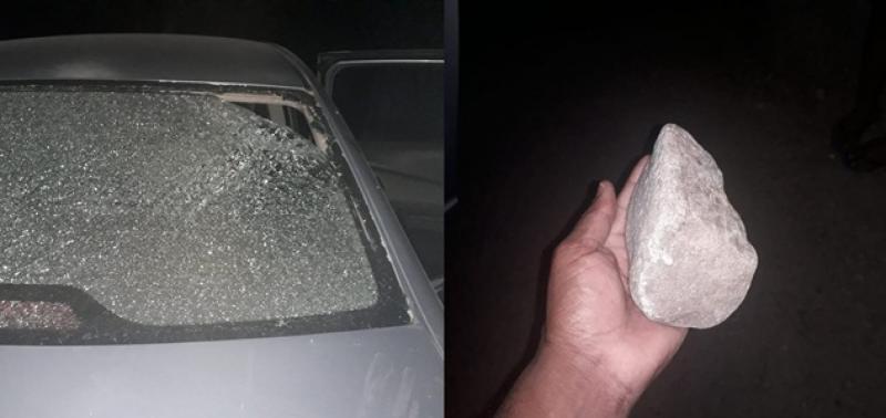 Homem ameaça a ex e lança pedra contra ela e os filhos