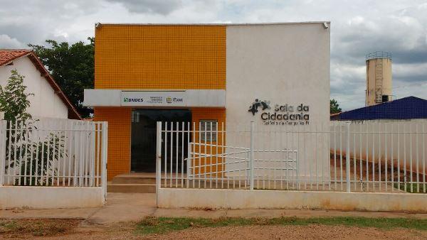 Sala da Cidadania de Colônia do Gurguéia servindo bem a população