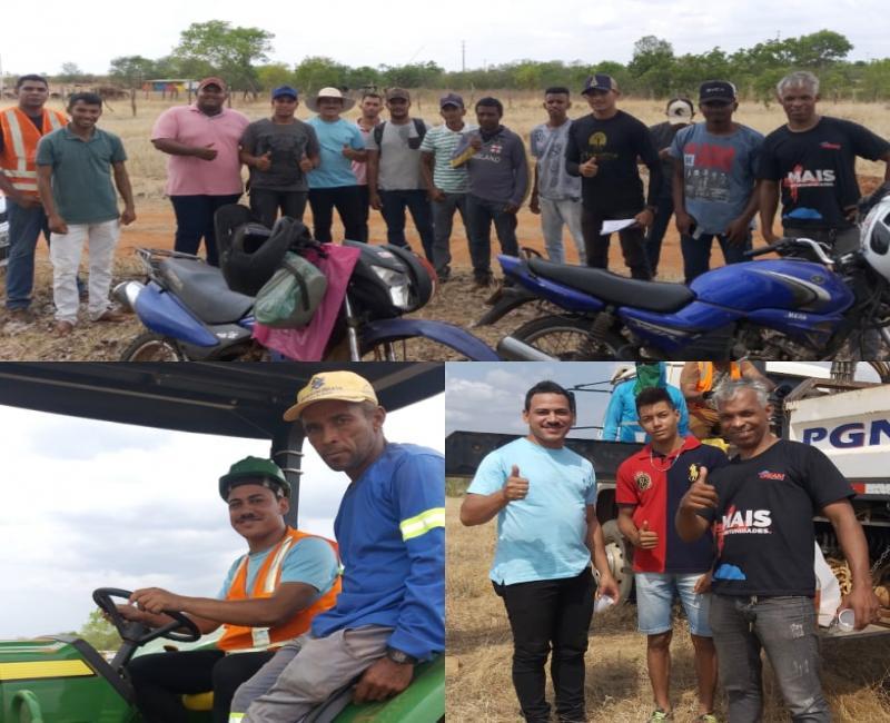 Curso de Operador de Máquinas Pesadas qualifica moradores de Gilbués