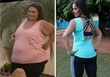 Sem cirurgia, mulher emagrece mais de 100 kg praticando Zumba