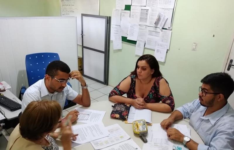 Simplício Mendes | Secretária de Saúde reuniu-se com Diretor do hospital