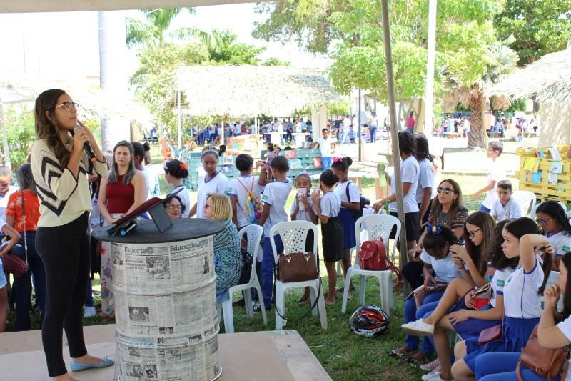 SAAE aborda tratamento da água, saneamento básico e consumo consciente
