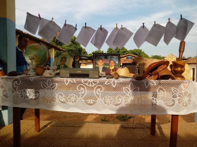 Primeiro 'Chá literário', movimento Escola Municipal Marques da Rocha