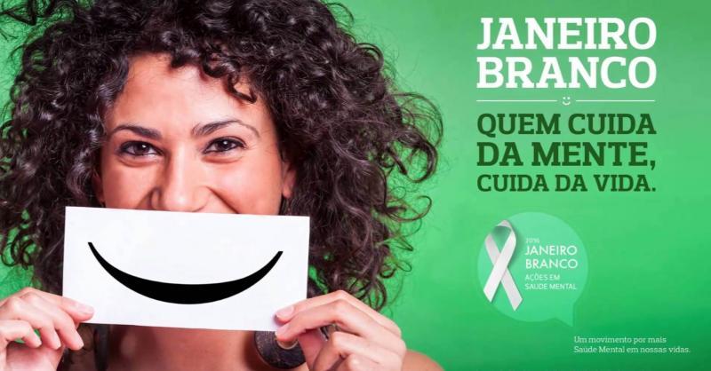 A Secretaria  Municipal de Saúde de Lagoinha do Piaui da inicio a campanha do Janeiro Branco