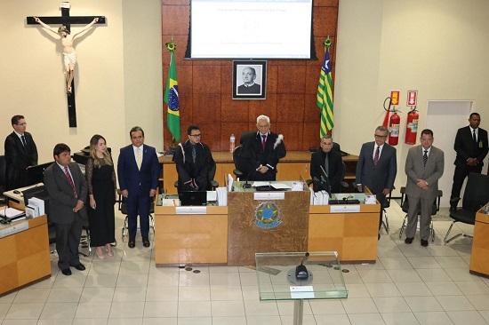 OAB Piauí participa da Cerimônia de posse de juízes do TRE Piauí