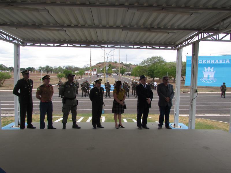 Em Picos, 3º Bec comemora Dia da Bandeira em sessão solene