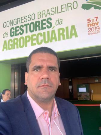 Secretário  André Gayoso participou de Congresso Brasileiro em Brasília