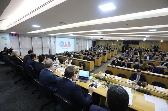 OAB Piauí integra Sessão do Conselho Pleno em Brasília