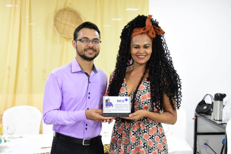 Prefeito Joel e Elineuza Ramos são homenageados como personalidades negras