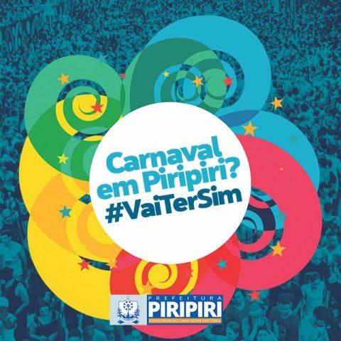 Prefeito de Piripiri anuncia o resgate do carnaval de rua