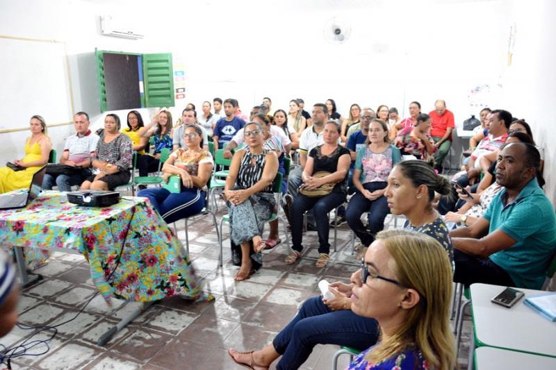 MASSAPÊ | Educação realiza formação com professores sobre a BNCC