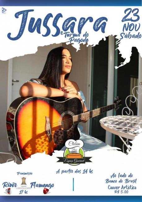 Jussara e Turma do Pagode será atração no Clebim Espaço Gourmet em Gilbués