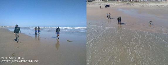 Praias de Atalaia e Peito de Moça são liberadas para banho