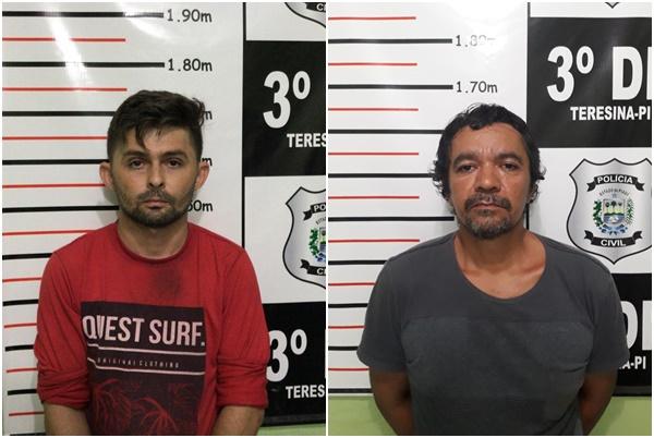 Polícia prende suspeitos de estupro e arrombamento em Teresina