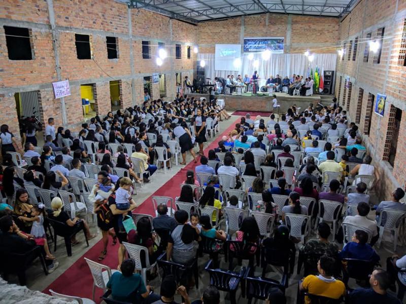 Congresso Unificado reuniu multidão na  Assembléia de Deus de Brasileira