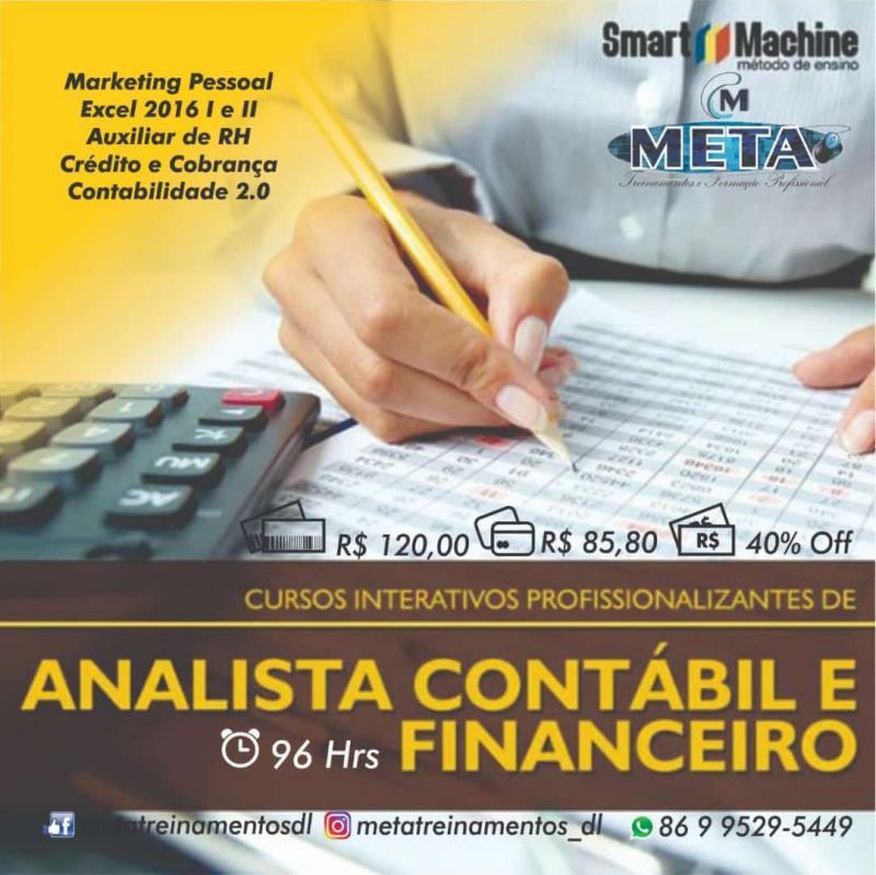 Demerval Lobão | Curso analista contábil e financeiro na Meta treinamentos
