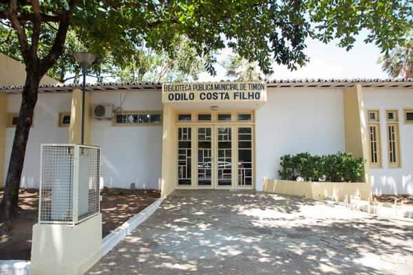 Biblioteca Municipal de Timon recebe reforma