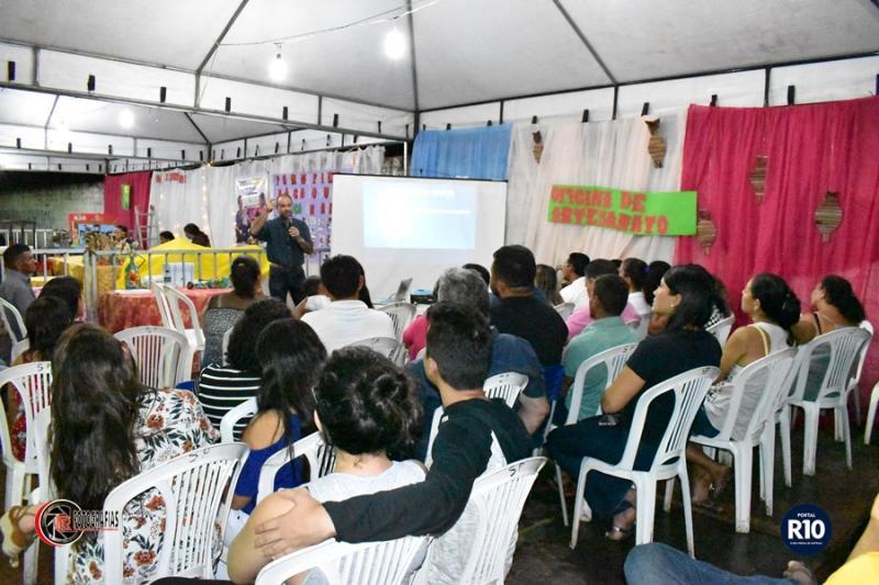 SEBRAE | Realiza palestra para empreendedores na III Semana Cultural