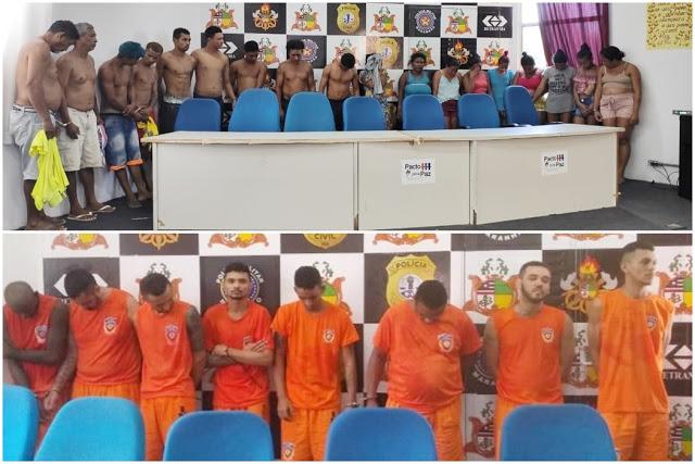 29 membros de facção são presos em operação da Polícia Civil do Maranhão