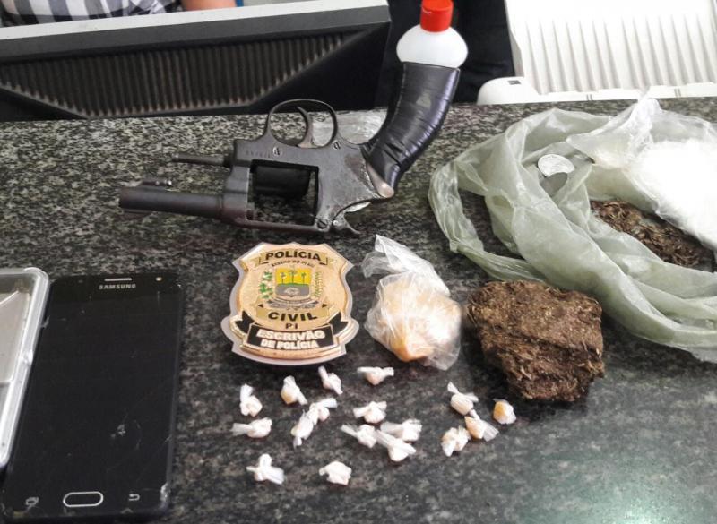 Polícia Civil de Piripiri cumpre mandados e captura autores de furtos