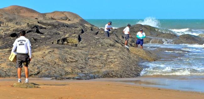 Secretaria de Meio Ambiente libera praia Pedra do Sal para banho