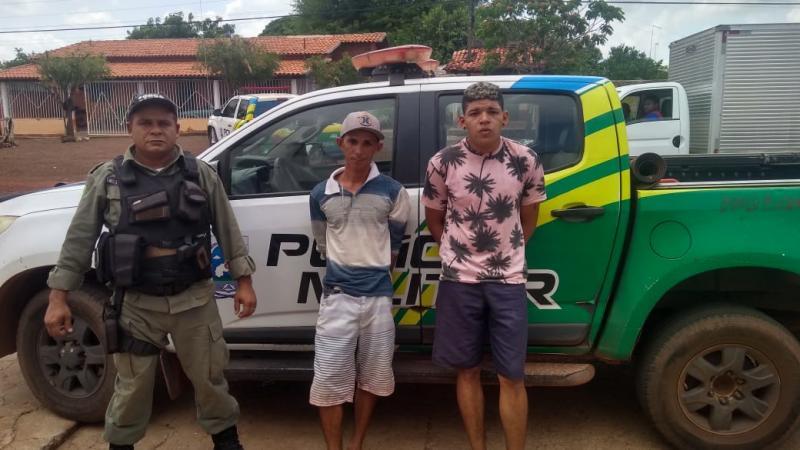 Dupla é presa em José de Freitas após tomar moto de assalto no rodoanel.