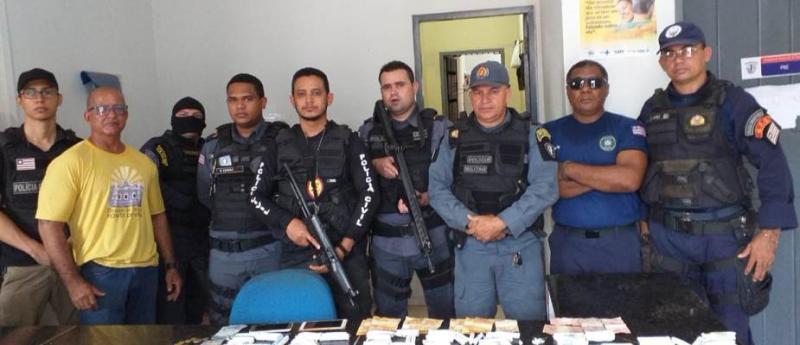 Delegado timonense comanda operação e prende traficantes em Penalva