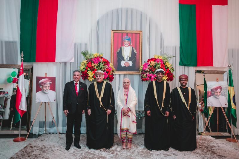 Data Nacional do Sultanato de Omã é celebrado em Brasília