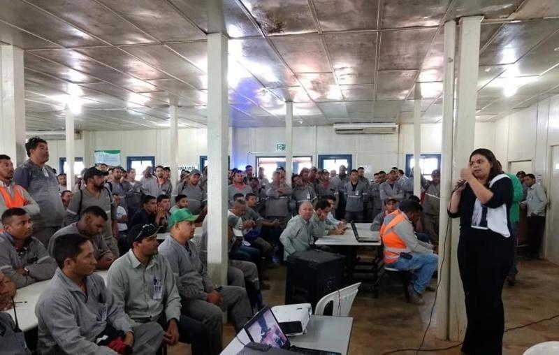 Simplício Mendes | Realizada palestra com trabalhadores da Transnordestina