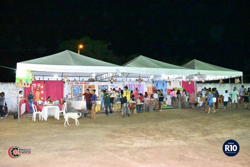 Atrações que se apresentaram na 2ª noite da III Semana Cultural em C. Largo
